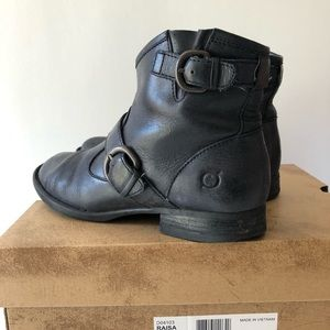 Born black Raisa bootie boots